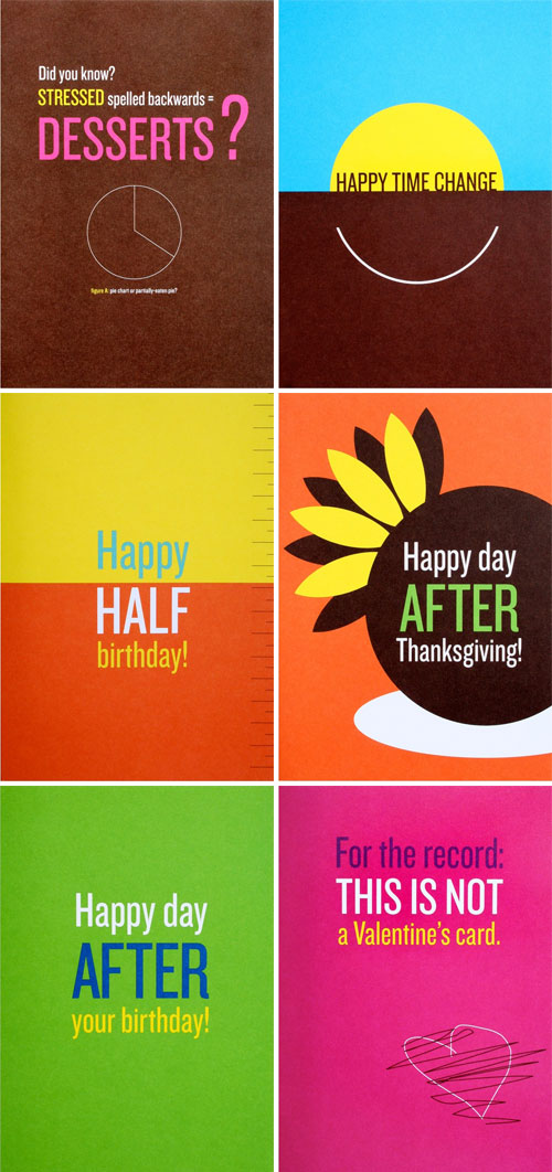 Egg2Cake Snarky Greeting Cards