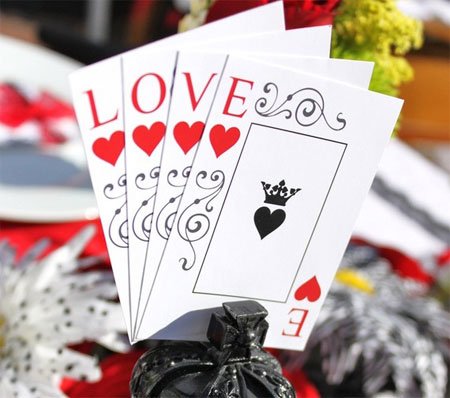 Printable Queen of Hearts Cards