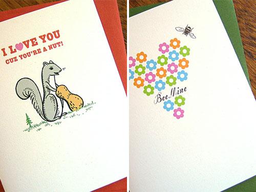 Inklosures Valentine's Day Cards