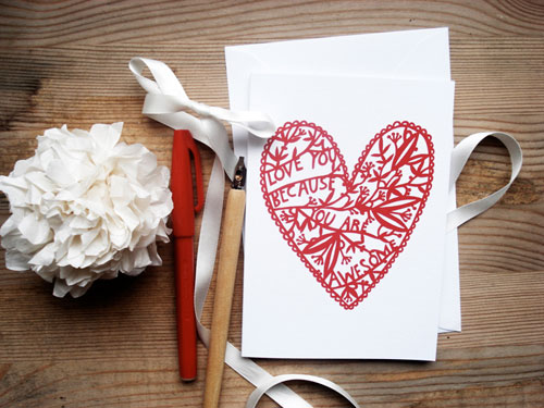 Karolin Schnoor Valentine's Day Card