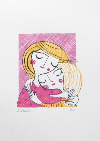 Lisa Stubbs Illustration Screen Print