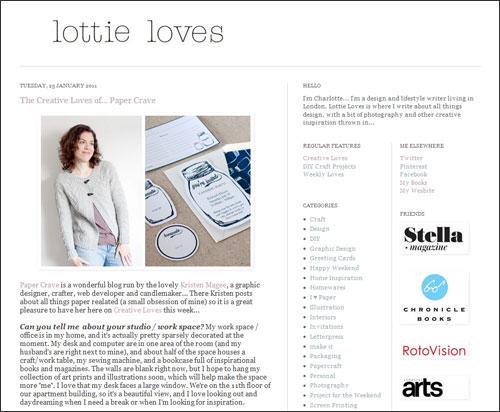 Lottie Loves Interview