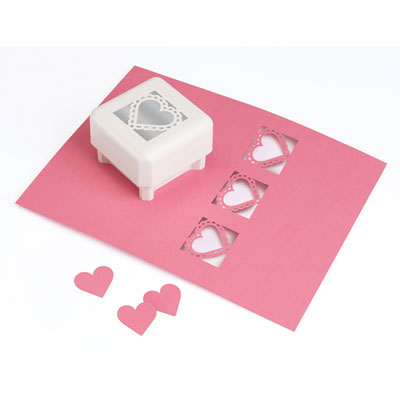 Martha Stewart Ruffled Heart Paper Punch