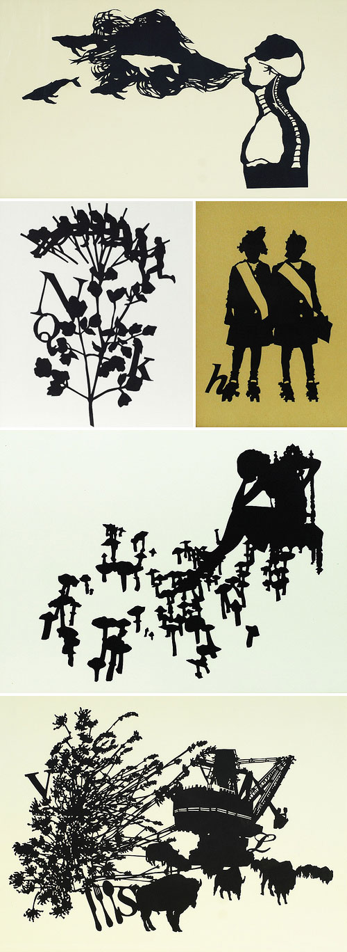 Paper Cut Art by Molly Bosley