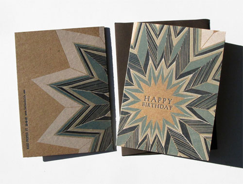 Ragamuffin Press Letterpress Card
