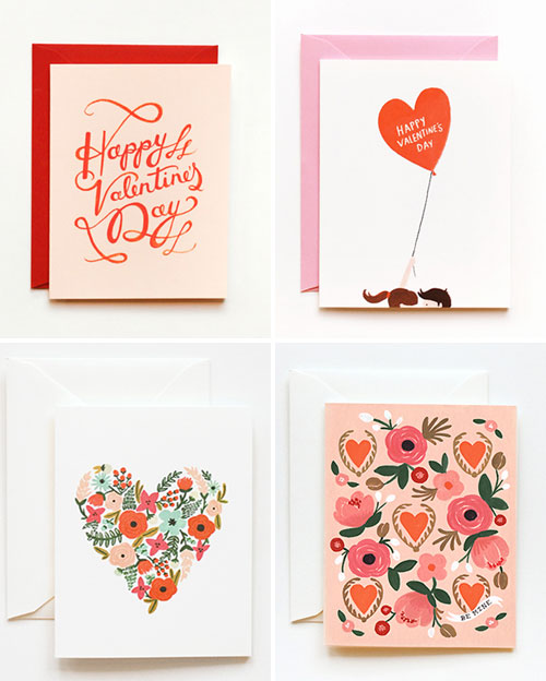 Rifle Paper Valentine's Day Cards