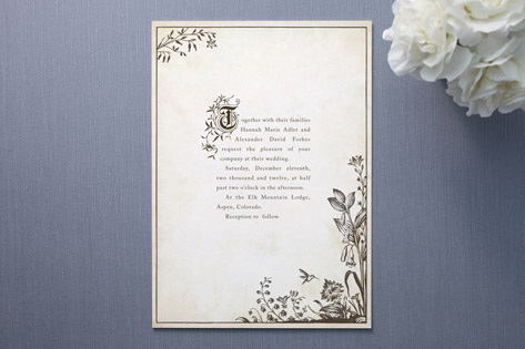 story book wedding invitations by jody wody paper crave
