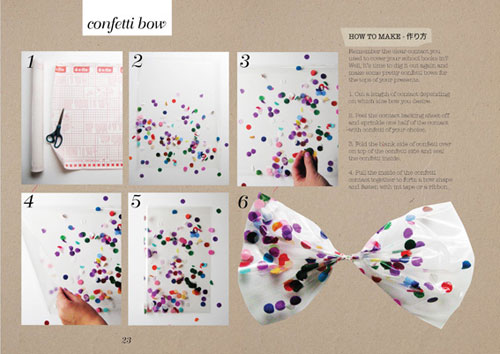 Confetti Bow Tutorial