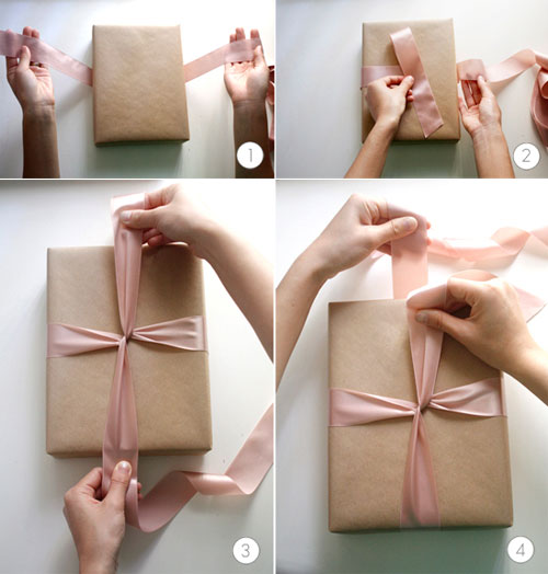 Tie a gift