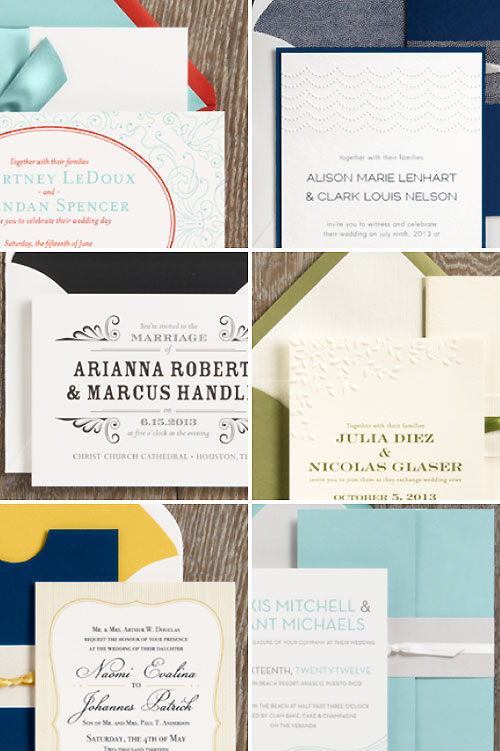 Paper Source Wedding Invitations 4 Cute  Wedding Invitations Paper