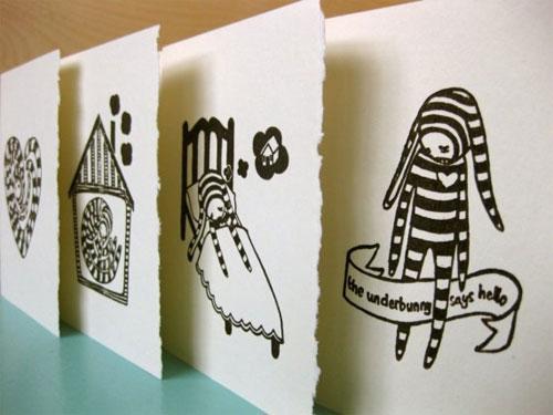 Ali Aschman Letterpress Cards