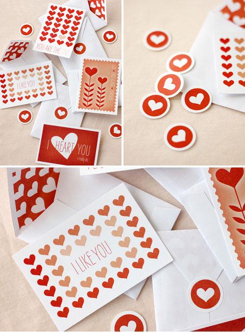 Paper Crave Printable Valentines