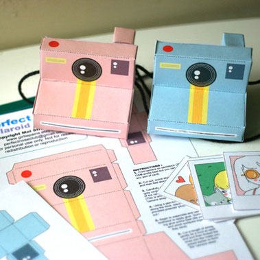 Printable Polaroid Cameras