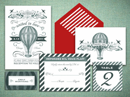 Printable Paperie Wedding Invitations