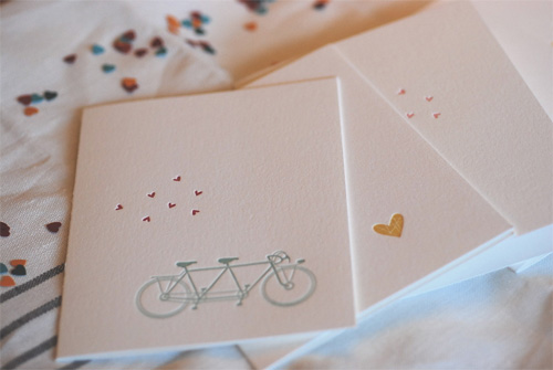 Satsuma Press Letterpress Valentines