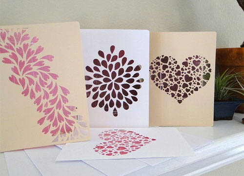 Die Cut Stationery