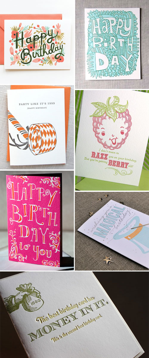 Super Cool Birthday Cards Paper Crave