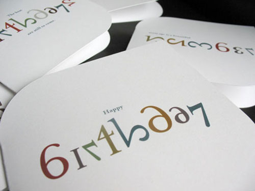 Nib & Tuck Birthday Card