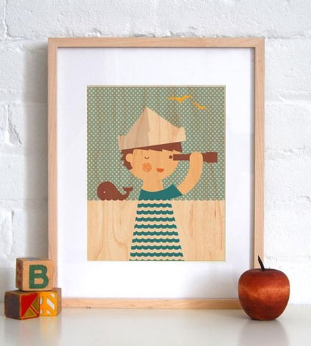Little Boy Art Print