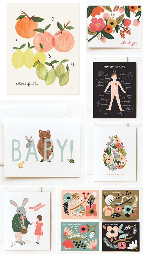 Rifle Paper Spring Cards and Prints