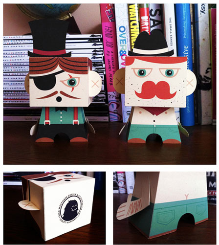 Alex Westgate Paper Toys