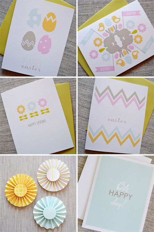 Spring Easter Greeting Cards