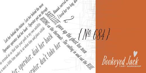 Bookeyed Jack Font