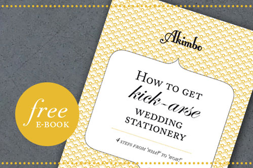 Free Wedding Invitation Ebook