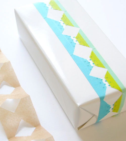 Layered Masking Tape Embellishments