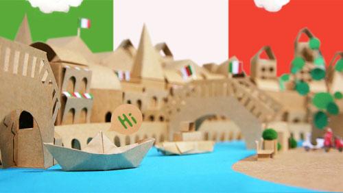 Cardboard Italy