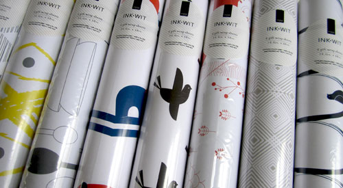 Ink + Wit Wrapping Paper