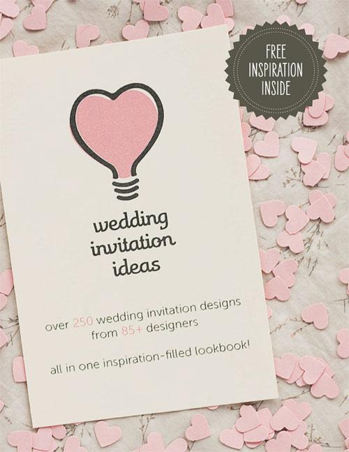 Wedding Invitation Ideas Lookbook