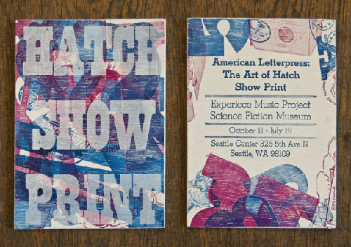 Hatch Show Print Event Invitation