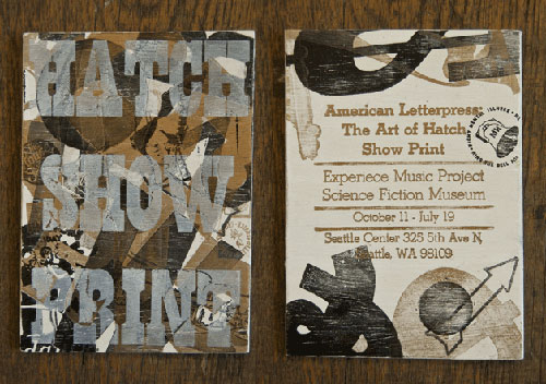 Hatch Show Print Event Invite