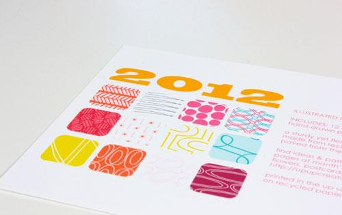Up Up Creative 2012 Calendar