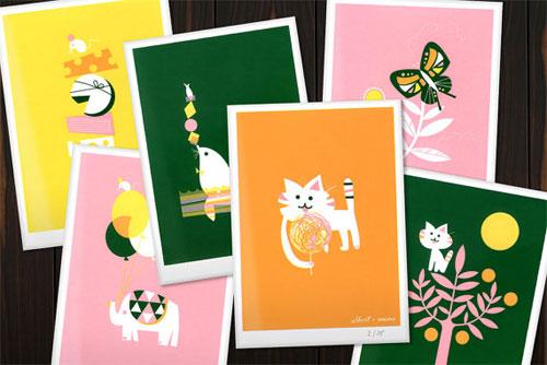 Screen Prints by Albert & Marie