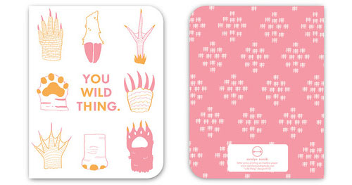 You Wild Thing Card