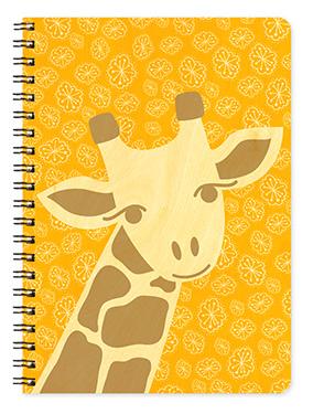 Birch Wood Giraffe Journal