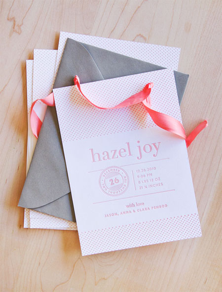 Hazel Joy Birth Announcement