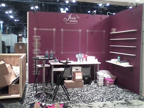 Joie Studio NSS Booth Setup