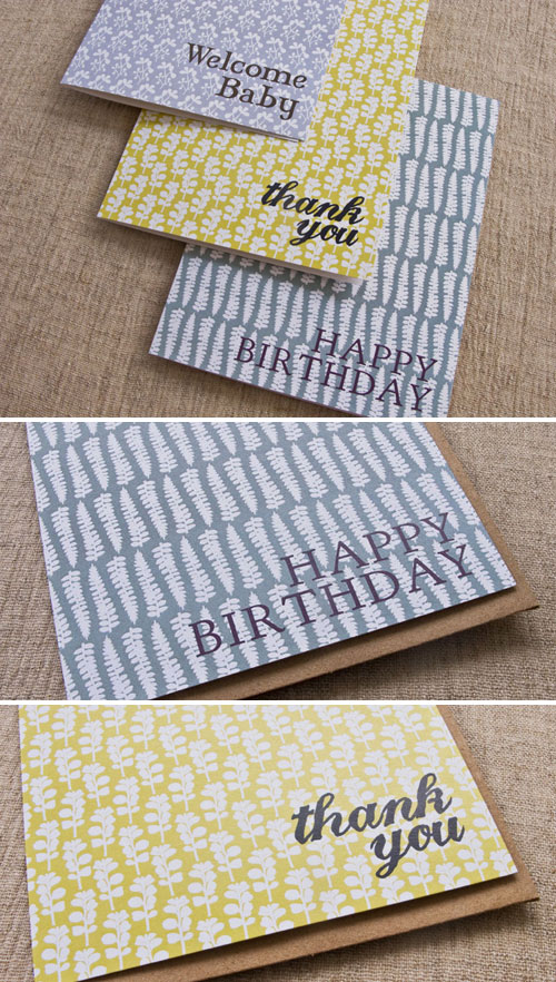 Patterned Greeting Cards