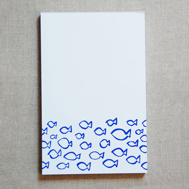 Fish Notepad