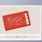 Perfect Match Save the Date Card