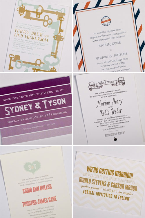 Wedding Invitations by Southern Fete Creative