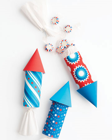 Rocket Favor Packaging