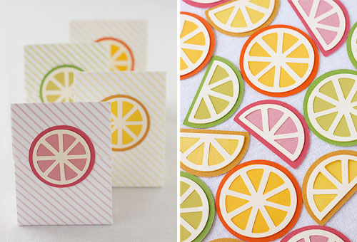 Free SVG Citrus Slices