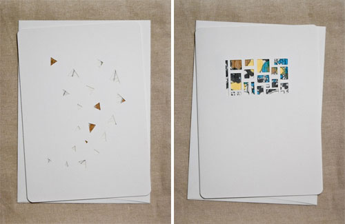 Handcut Paper + Chiffon Fabric