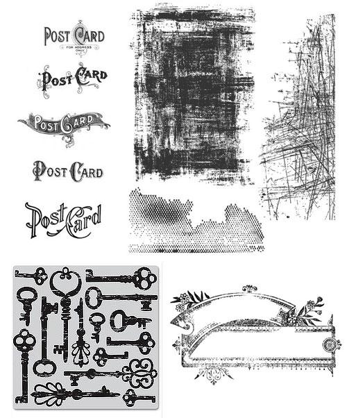 Vintage Grunge Stamps