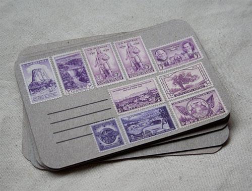 Uncancelled Vintage Stamps
