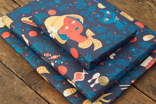 Lab Partners Wrapping Paper